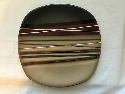 """Home Trends Bazaar Brown Better Homes and Gardens Salad Plate 8 3//4/"""""""