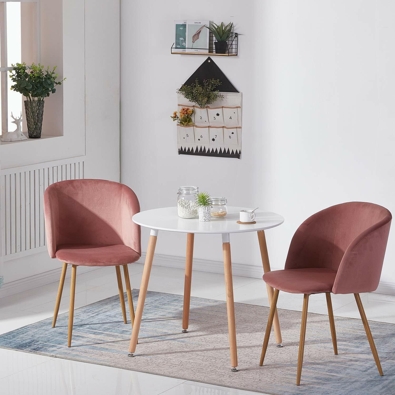 Salle A Manger Retro détails sur eggree lot de 2 chaises salle à manger, chaise design rétro  avec assise en simil