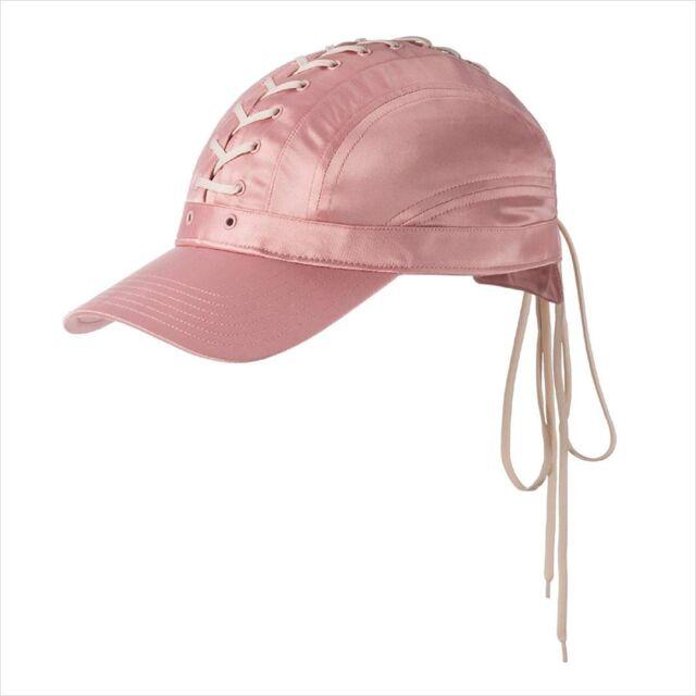 fe3fe0f0d37 Puma X Fenty by Rihanna LACE UP CAP Silver Pink Vanilla Ice All Satin OSFM