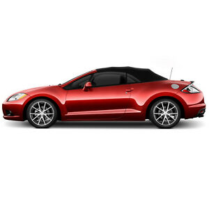 Image Is Loading Mitsubishi Eclipse Convertible Soft Top Replacement 2006 2017