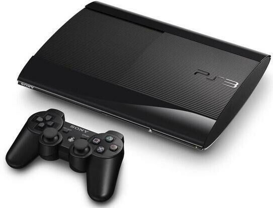 Playstation 3, Sony PlayStation 3 Super Slim 12GB Sort