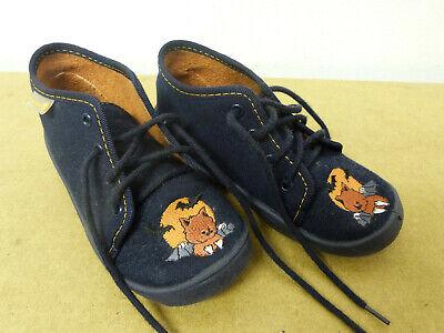 Fischer Schnürschuh Größe 26 lila dunkel Schuh mit