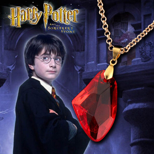 Cosplay The Philosophers Anime Red Stone Necklace Pendant Necklaces