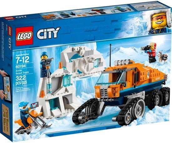 Lego 60194 Set City Arktis Erkundungstruck Arctic Scout Truck Eisbär Husky