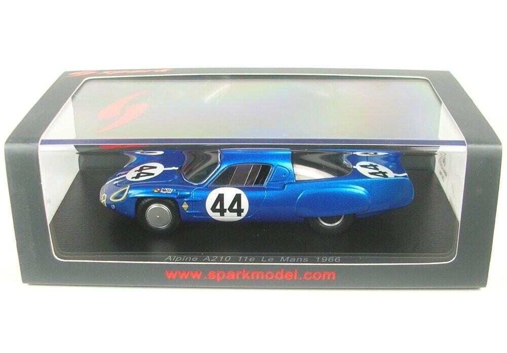 Alpine a210 n. 44 24h LEuomoS 1966 (J. cheinisse-R. DE strati Este)