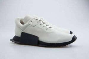 1eb4a1b80 Details about CQ1843 Adidas x Rick Owens Men Level Runner Low II white ro  milk ro black