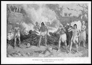 1897-Antique-Print-INDIA-RELIGION-Hindu-Burning-Ground-Plague-Victims-09