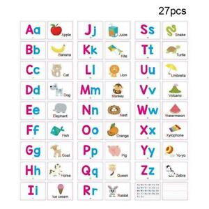 Alphabet-Cards-A-Z-Kids-Toddlers-Preschool-Early-Learning-Resource-Sen-Q7J3