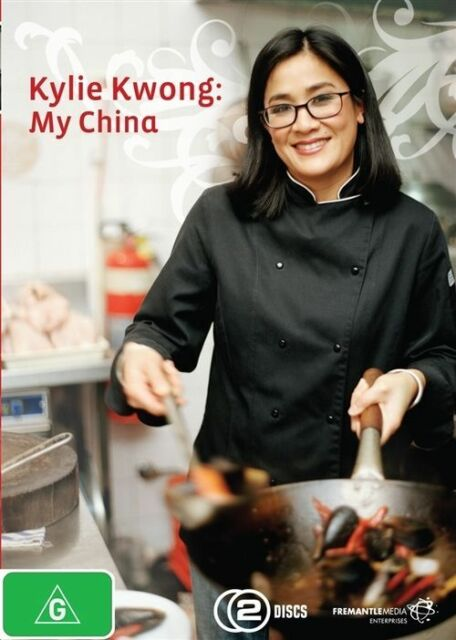 DVD KYLIE KWONG MY CHINA 2 DISC'S COOK CHINESE FOOD BRAND NEW FACTORY SEALED