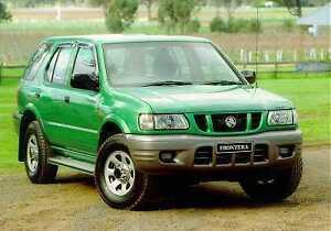 isuzu holden frontera ue 1999 2001 workshop service repair manual ebay rh ebay com au Holden Cars Holden Commodore Car