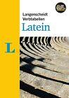 Langenscheidt Verbtabellen Latein von Annerose Müller und Othmar Bilz (2013, Taschenbuch)