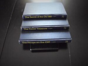 Franklin-W-Dixon-Set-of-3-Vintage-Hardy-Boys-Hardcovers-1959-to-1962