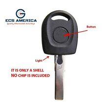 2000 - 2010 New Replacement for VW Key Blank Shell W/ Light