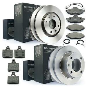 Bremsscheiben + Bremsbeläge vorne + hinten 266/224mm Citroen Xantia X1 X2
