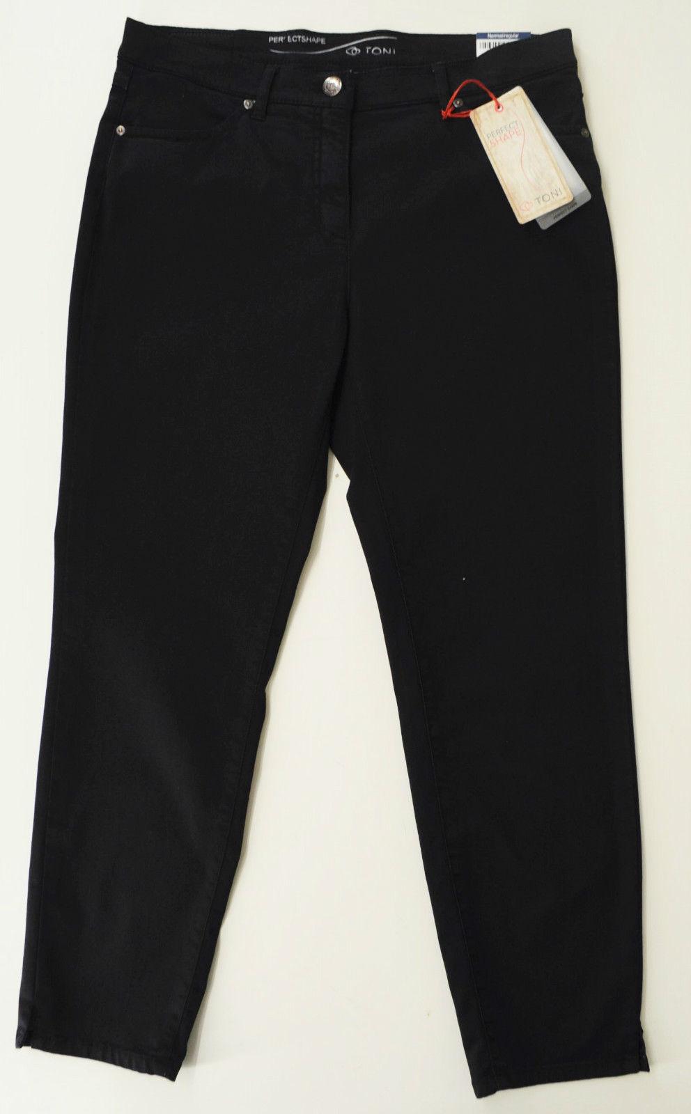 Toni Fashion,  Perfect Shape , modische 7 8 Hose in Marine, Stretch, Gr. wähbar