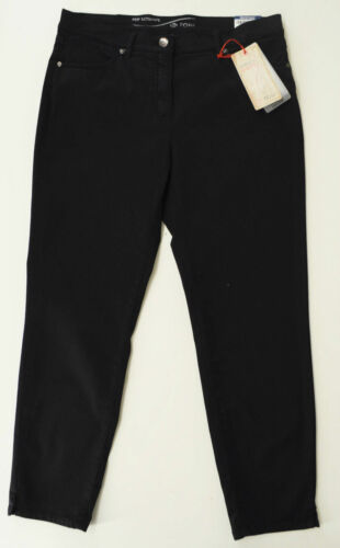 7//8 alla moda pantaloni in Marina wähbar perfect shape tg stretch Toni fashion