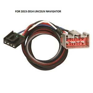 image is loading 2013-2014-lincoln-navigator-tekonsha-2-plug-trailer-