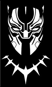 MARVEL-039-S-BLACK-PANTHER-DECAL-FOR-CAR-LAPTOP-AND-MORE-PICK-SIZE-AND-COLOR