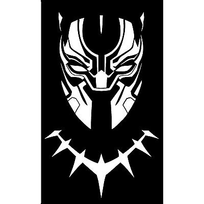 MARVEL'S BLACK PANTHER DECAL FOR CAR/ LAPTOP AND MORE PICK SIZE AND COLOR