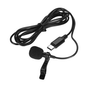 Mini-Lapel-Lavalier-Clip-on-Condenser-Microphone-Mic-with-Type-C-Plug-for-K6L4