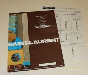 Brochure-Publicitaire-Cuisine-SAINT-LAURENT-Vintage-70-039-avec-ses-anciens-tarifs
