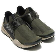 Size 10 Men's Nike Sock Dart Cargo Khaki Rattan Black 819686-300 Light Weight