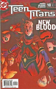 TEEN-TITANS-10-TV-BROTHER-BLOOD-GEOFF-JOHNS-DC-2004-NICE