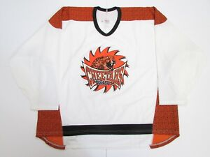 CHICAGO CHEETAHS AUTHENTIC CCM ROLLER HOCKEY JERSEY SIZE