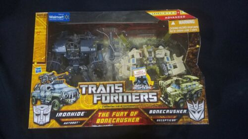 Transformers    Fury Of Bonecrusher 2pk Walmart Exc  hunts For The Decepticons
