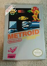 Metroid (Nintendo, 1987) with box. NO manual included. NES. Must See!