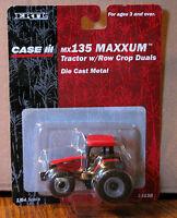 Case Ih Mx135 Maxxum Toy Tractor W/row Crop Duals 1/64 Ertl 14158 Cih 2001