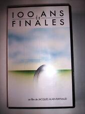 K7 VIDEO VHS 100 ANS DE FINALES DE JACQUES ALAIN RAYNAUD
