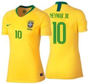 NIKE NEYMAR JR. BRAZIL HOME WOMEN S JERSEY WORLD CUP 2018.  ca23ec1f93