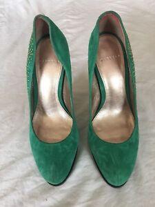 Carvela-Women-Green-High-Heel-Shoes-Size-5-38-R21