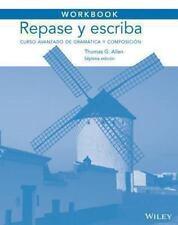 Workbook to Accompany Repase y Escriba : Curso Avanzado de Gramatica y