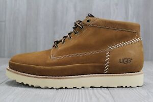 4a85d8b640a 37 New Ugg Men's Campfire Nubuck Suede Trail Tan Boots Shoes Size 10 ...