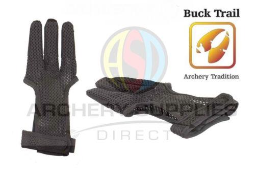 Buck Trail Synthetic Full Palm Lightweight Summer Mesh Archery Glove