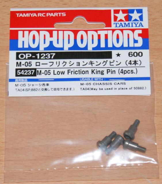 Tamiya 54237 M05 Low Friction King Pin (4 Pcs.) (TA04/TA05/M-05/M06/DF03/TB02)