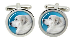 Maremma Sheep Select Gifts I Love My Dog Gold-Tone Cufflinks /& Money Clip