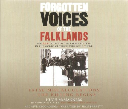 1 of 1 - Hugh McManners - Forgotten Voices of the Falklands Part 1 (3xCD A/Book 2007)
