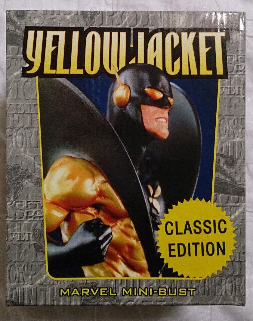 Marvel Comics Bowen Ant Man amarillo Jacket Classic Mini estatua Busto Con Caja en muy buena condición