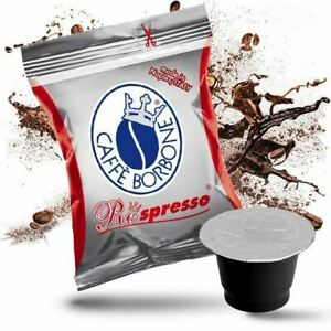 600 CIALDE CAPSULE CAFFE' BORBONE COMPATIBILI NESPRESSO RESPRESSO MISCELA ROSSA