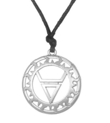 Symbol of God Veles Circle Forest Underworld Necklace Earth Water Slavic Ethnic