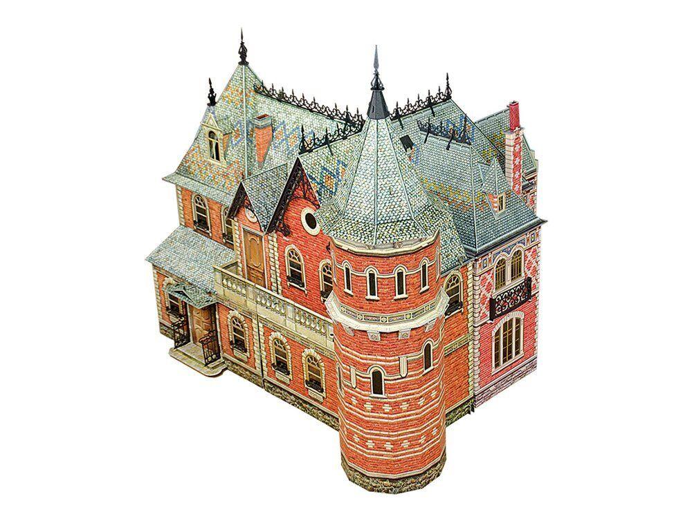Muñeca Casa Victoriana  1,  2,  3 Set Completo Hágalo usted mismo kit de casa de muñecas en miniatura escala 1 12