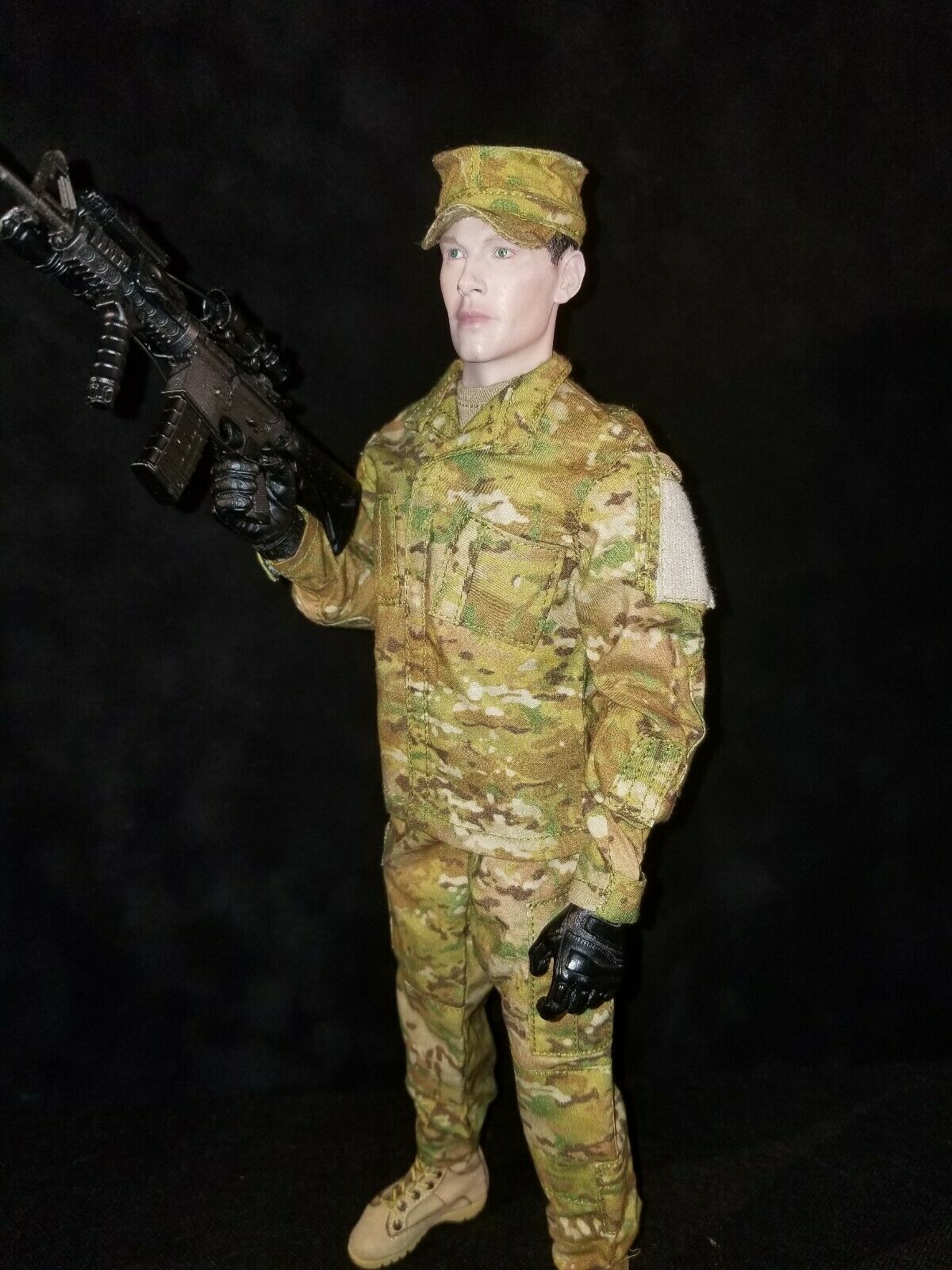 1 6 BANDIT JOES EXCLUSIVE US ARMY SCORPION OCP UPDATED UNIFORM SET.