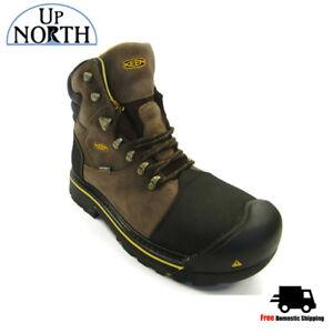 c6eed00f721 Keen Mens Milwaukee Steel Toe Work Boot (1009174) Dark Earth NEW ...