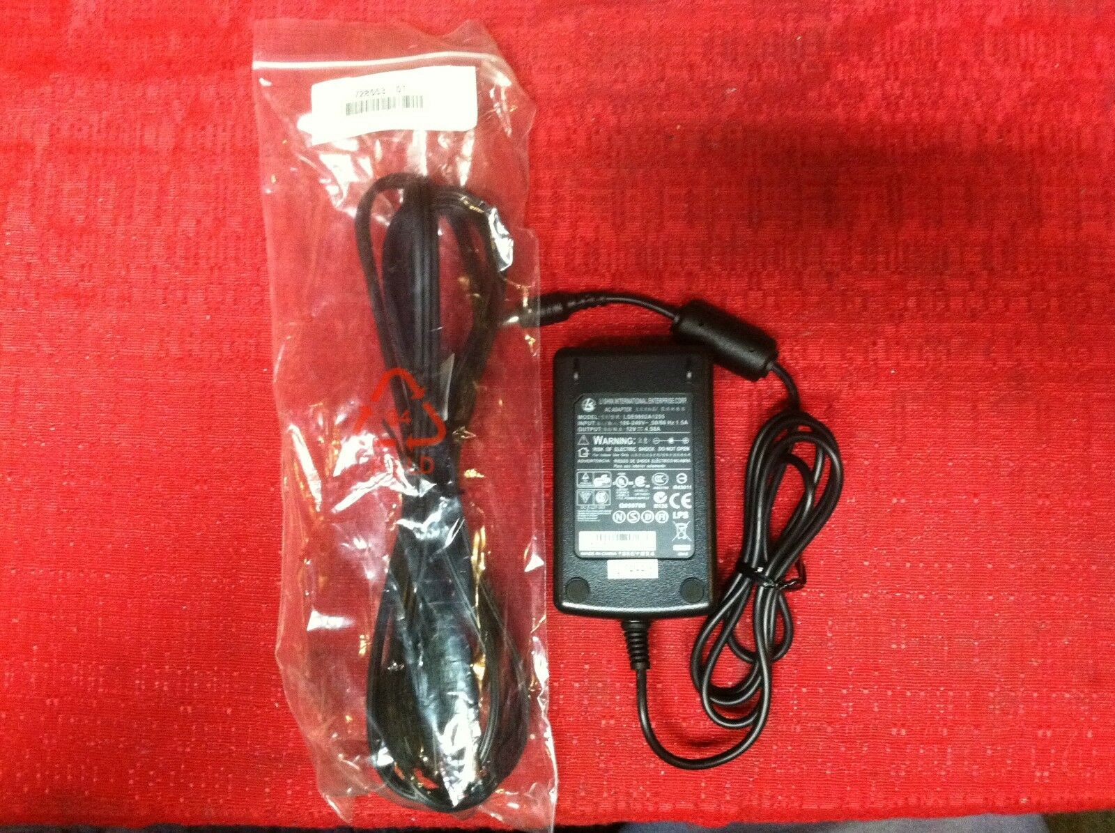 Accessory USA Replacement 4-Pin AC Adapter for Li Shin 0452B1280 Power Supply Cord Charger