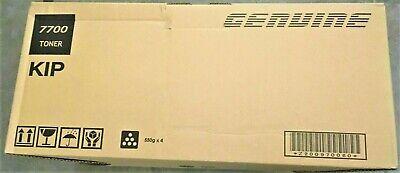 Black, Bx//4 KIP 7700 Z200970060 Toner Original Genuine