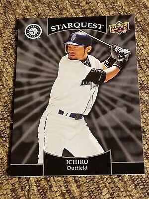 2009 Upper Deck Starquest Blue Uncommon #SQ-12 Ichiro Suzuki Seattle Mariners