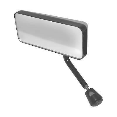 White Convex Glass Left Hand Lifeline FIA Touring//GT Handed Car Mirror